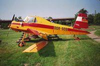 DDR-SOB - die Maschine wurde am 20.5.1993 auf dem AGRA Gelände in Leipzig-Markleeberg fotografiert - by Andreas Seifert