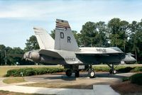 163157 - McDonnell Douglas F/A-18A Hornet at the Gate of MCAS Beaufort SC - by Ingo Warnecke