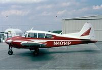 N4014P @ KRBW - Piper PA-23-160 Apache at Walterboro Airpark SC