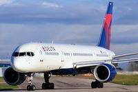 N702TW @ EGCC - Delta Air Lines - by Chris Hall