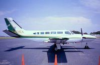 N401EX @ ARW - Cessna 404 Titan at Beaufort County airport SC