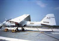 152599 - Grumman A-6E Intruder at the Patriots Point Museum aboard USS Yorktown