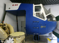 D-9511 - S/n 64-003 - Preserved Sikorsky S-64 Skycrane cockpit section @ Hermeskeil Museum... - by Shunn311