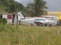 N63798 @ TNCM - Parking on Prinses Juliana Airport st Maarten - by Willem Goebel