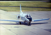 61-0678 @ BWI - T-39A Sabreliner taxying to the terminal at Baltimore's Friendship Airport in the Summer of 1972. Can any-one tell me which unit she belonged to please? - by Peter Nicholson