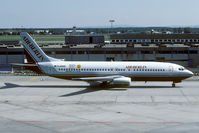 D-ABAB @ EDDF - In 2001 this aircraft was replaced by a Boeing 737-700 with the same registration. - by Joop de Groot