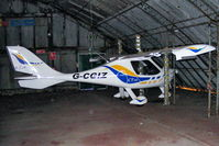 G-CGIZ @ EGCB - privately owned CTSW based at Barton - by Chris Hall