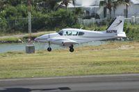 N63798 @ TNCM - N63798 landing at TNCM - by Daniel Jef