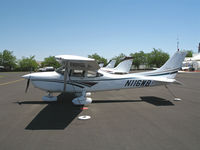 N116WB @ O41 - 1998 Cessna 182S on Woodland Aviation ramp (to owner in Apex, NC by Aug 2006) - by Steve Nation