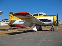 N105SF @ 2O3 - North American T-28B with canopy cover @ Parrett Field, Angwin, CA (with owner in Jean, NV by Aug 2009) - by Steve Nation