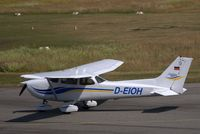 D-EIOH @ EDHL - Private Cessna on Luebeck Airfield. - by Holger Zengler