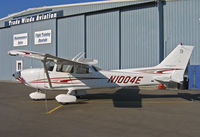 N1004E @ KRHV - Brand new 2005 Cessna 172S for sale @ Reid-Hillview (originally Reid's Hillview) Airport, San Jose, CA - by Steve Nation