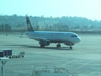 N642AW @ KSAN - Taxiing in at KSAN. Preparing for the short hop over the KPHX - by Frank White