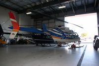 N3890B @ BVU - Sitting in the hangar with N7535G, N203LH, and N6703S