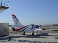 N110HB @ KVNY - Sitting outside Clay Lacy Aviation - by Nick Taylor Photography