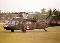 84-23951 @ MHZ - UH-60A Blackhawk of the US Army's 45th Medical Company based in Germany on duty at the 1998 RAF Mildenhall Air Fete. - by Peter Nicholson
