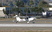 N12AK @ KCCR - Locally-based 2002 Wiley GS-1 GLASTAR experimental homebuilt running up for take-off on RWY 1L @ Buchanan Field, Concord, CA - by Steve Nation
