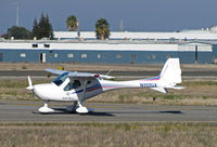 N117GX @ KCCR - Locally-based Remos GX operated by Sterling Aviation taxiing to RWY 1L @ Buchanan Field, Concord, CA - by Steve Nation