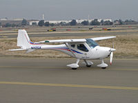 N117GX @ KCCR - Locally-based Remos GX taxis for RWY 32R @ Buchanan Field, Concord, CA - by Steve Nation
