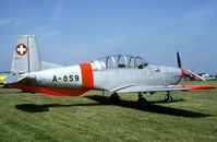 HB-RCB @ EBDT - Former Swiss AF P-3 at the 2001 oldtimer fly-in.