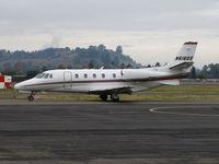 N616QS @ KCCR - NetJets 2003 Cessna 560XL leaving for flight to KLAS/McCarren International Airport, Las Vegas, NV @ Buchanan Field, Concord, CA - by Steve Nation