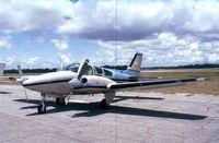 N202DK @ KTIX - Beechcraft 95-B55 Baron  (ex T-42A Cochise?) at Titusville airfield