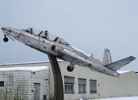 523 @ LFHS - Fouga preserved on a pylon since January 1996 - by Shunn311