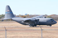 63-7859 @ NFW - Arkansas C-130 doing tactical landings on the taxiway at NASJRB Fort Worth - by Zane Adams