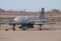 66-9243 @ AFW - At Alliance Airport - Fort Worth, TX  This is one of 15 F-5B's brought to the USA for a flight training program that never materialized. - by Zane Adams