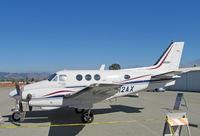 N12AX @ KWVI - 1978 Beech E-90 King Air in clutter @ 2010 Watsonville, CA Fly-in - by Steve Nation