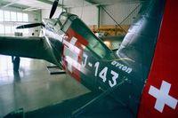 HB-RCF @ LSZR - Morane-Saulnier (EFW) D-3801 / MS.406 C-1 at the Fliegermuseum Altenrhein