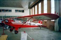 HB-ONC @ LSZR - Piper J3C-65 (L-4) at the Fliegermuseum Altenrhein