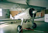 HB-RBG @ LSZR - Boeing / Stearman E75 (PT-13D / N2S-5) at the Fliegermuseum Altenrhein