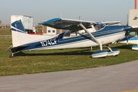 N74CF @ TDZ - At the Toledo-Metcalf EAA breakfast fly-in. - by Bob Simmermon