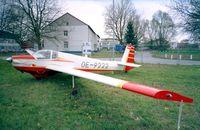 OE-9222 @ EDNY - Scheibe (Sportavia Puetzer) SF 25D Falke at the AERO 2001, Friedrichshafen