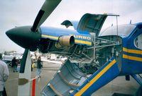 HA-YDG @ EDNY - Technoavia SMG-92 Turbo Finist at the AERO 2001, Friedrichshafen