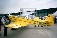 D-EKDF @ EDNY - Akaflieg München Mü-30 Schlacro at the AERO 2001, Friedrichshafen