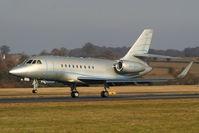 VP-BRA @ EGGW - landing on RW26 - by Chris Hall