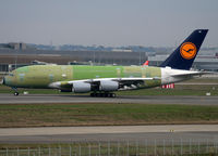 F-WWSG @ LFBO - C/n 070 - For Lufthansa - by Shunn311
