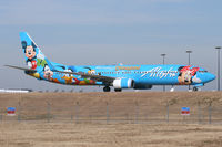 N318AS @ DFW - Alaska Airlines Disney Special at DFW Airport