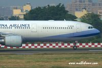 B-18308 @ RCKH - China Airlines - by Michel Teiten ( www.mablehome.com )