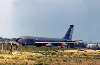 62-3574 @ MHZ - KC-135A Stratotanker of the 301st Air Refuelling Wing at Rickenbacker AFB on detachment to RAF Mildenhall in May 1978. - by Peter Nicholson