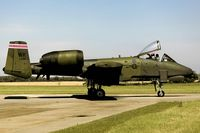 81-0988 @ EGVJ - taxying to the active at RAF Bentwaters, Suffolk