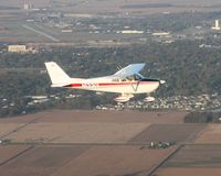 N1331Y @ FDY - Looking west at 2500' towards Findlay airport. - by Bob Simmermon