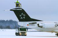 D-AGPH @ EDDR - de-icing prior departure