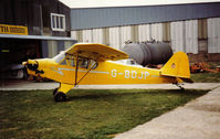 G-BDJP @ EGKA - Old scanned print of this cub for many years resident at Shoreham - by Andy.P