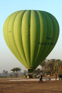 UNKNOWN - Egyptian Balloon over Luxor West Bank SU-293