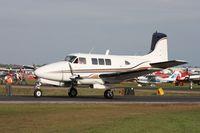 N16BN @ LAL - Former U-8F Beech Queen Air