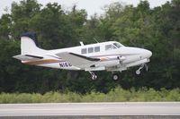 N16BN @ LAL - Former U-8F - Beech Queen Air