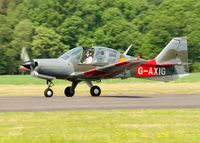 G-AXIG @ EGPT - Heart of Scotland Airshow, Perth Airport - by Brian Donovan